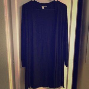 Sweaters - Halogen Black Long Sleeve Cardigan S